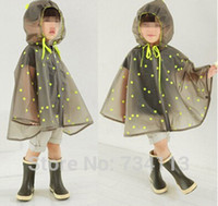 Wholesale Cloak Raincoat - Waterproof Transparent Eva Kids Women Raincoat Winter Capa De Chuva For Boys Girls Rain Ponchos Cloak Tour Chubasquero