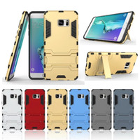 Wholesale Spiderman Silicone Note Case - For Samsung Note 7 Spider Spiderman Robot 2 in 1 Hybrid Silicone Hard Plastic Case Cover Kickstand for N930 Outdoor