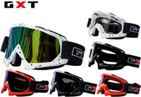 Wholesale 2016 New GXT G980 motorcycle goggles Racing off road helmet goggles Windproof ski glasses Knight riding goggle Dust Anti wrestling