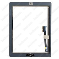 Wholesale Touch Glass Tablets - Digitizer Tablet for iPad 2 3 4 Black and White 9.7inch Touch Screen Glass Panel Digitizer free DHL