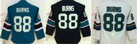 Wholesale Burn Free - #88 Brent Burns Cheap Youth Ice Hockey Jerseys Kids Boys Stitched Jersey Free Shipping Size S M L XL