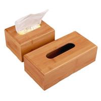 caixa de decoração chinesa venda por atacado-Caixa de tecido de bambu continental retângulo caixa de armazenamento de proteção ambiental feito à mão Artesanato Decoração de Casa Saúde Natural