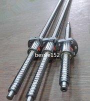 Wholesale End Machining Ballscrews - 3 ballscrews RM2005-400mm & RM2505-600 1000mm Ball Screw -C7 + 3 ballnuts + end machining cnc