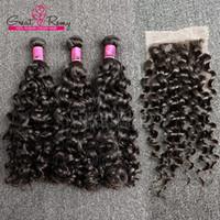çince saç örgüsü uzantıları toptan satış-Greatremy® Büyük Kıvırmak Çin Bakire Saç Örgü 8