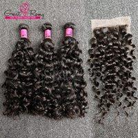 faisceaux de cheveux vierges chinois achat en gros de-Greatremy® Big Curl Armure De Cheveux Vierges Chinois 8