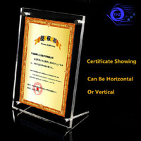 Wholesale Plexiglass Can - 6 inches acrylic plexiglass photo frame european creative Have many different size inventory anc can customize any size