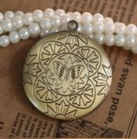 Wholesale Brass Oval Frame - DIY Pendant Jewelry Wholesale 20pcs ANTIQUE BRONZE 16*24mm Oval Round Photo Locket Frame Charm&Pendant Accessories for DIY Necklace Jewelry