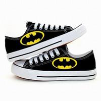Wholesale Canvas Shoes Batman - New Arrival Cartoon Batman Logo Canvas Shoes,Outdoor Leisure Fashion Sneakers,Unisex Casual Shoes Hot Items