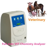 Wholesale 3 step Full Auto VET Chemstry Analyzer CE Chemistry Analyzer ISO VET Analyzer machine Full auto advanced chemistry device Unique software