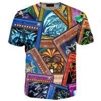 Wholesale Summer Tshirt Fashion Tops - Wholesale-Fashion Brand Clothing 3D Printed T-shirt Homme Hip Hop Shirt Summer Man tshirt Top Tees 10