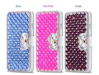 Wholesale bling galaxy s5 wallet case online – custom Rhinestone bling Wallet Cases for iPhone X Plus iphone plus galaxy J710 G530 S5 S8 Diamond leather case protector cover Shell GSZ184