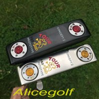 Wholesale Oem S - OEM quality golf putter Rat putter silver black 33 34 35inch with headcover wrench golf clubs
