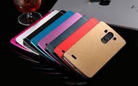 Wholesale lg g2 hybrid cases resale online - Motomo Hybrid Brushed PC Aluminum Metal Case For LG G2 G3 G4 G5 Leon Magna K7 K10 V10