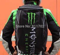 motosikletler için sırt çantaları toptan satış-Toptan-Yeni 2015 Motosiklet Sırt Çantası Moto çanta Su Geçirmez omuzlar yansıtıcı kask çantası motosiklet yarış paketi Ücretsiz Kargo