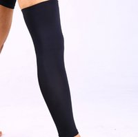 Wholesale Knee Padded Tights - Riding Knee pads Basketball Football Leg Guard Tights Lengthen Protector Useful Legwarmer Sports Safety free shipping