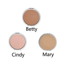 Wholesale Mary Cosmetics - Wholesale-New Makeup Mary-Lou   Betty-Lou   Cindy-Lou Manizer Highlight Shimmer Face Pressed Powder Foundation Palette Cosmetic free ship