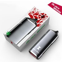 Wholesale Ecigarette Wax - Authentic Kingstons Black Widow Kit with 3 in 1 dry herb wax juice 2200mah herbal vaporizer vapor mods pen Ceramic Heating System ecigarette