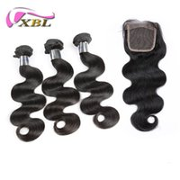 Wholesale Large Shedding - 7A Peruvian Body Wave Hair Wholesale Virgin Human Hair Free Shed And Tangle Double Large Natural Color Weft And Closure