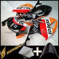 honda rc51 motosiklet parkurları toptan satış-23 renkler + Hediyeler için REPSOL bodywork motosiklet kukuletası HONDA VTR1000 SP1 RC51 2000 2001 2002 2003 2004 2005 2006 00-06 ABS Plastik Fairing