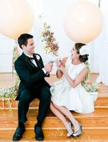 Wholesale Confetti Cannons Wholesale - 5Pcs DIY Confetti Cannon Party Poppers Wedding Happy Time Confetti Party Happy Birthday Throwing Confetti 2016 May Style