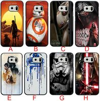 Wholesale S3 Star Wars - Luxury Creative Star Wars Phone Protective Case for Samsung galaxy S3 S4 S5 S6 samsung Note 2 note3 note4 5 Phone Case Hard Back Cases Cover