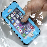 Wholesale Fingerprint Identification - Waterproof Cases For iPhone 6s 6 Plus Samsung Note7 Note6 S7 S6 edge Underwater IPX8 Armor Fingerprint Identification Shockproof Cover