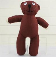 Wholesale Doll Beans - Cute Mr Bean TEDDY BEAR Stuffed Plush teddy bear toy Fashion plush doll Best Gift For Children 35cm Free Shipping