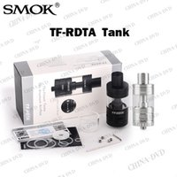 Wholesale One Deck - Authentic SMOK TF RDTA 5ml TF-RDTA Vaporizer Tank Atomizer S2 Deck Dual-Post Velocity Style Deck Base Two-In-One Structure Vs TF-RTA G2 G4