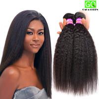 Wholesale Yaki Hair Prices - Unprocessed Brazilian Virgin Yaki Straight Human Hair Weave Wholesale Price Light Yaki Remy Hair Wefts Hot Sell Brazilian Hair Bundles 8A
