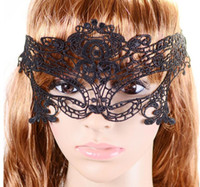 Wholesale Latex Venetian Mask - Free DHL Lovely Lace Halloween latex Masquerade masks Venetian Party Half Face Mask Lily Woman Lady Sexy Mask For Christmas