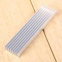 Wholesale DIY Cooler Aluminum Heatsink Heat Sink Chip mm for IC LED Power Transistor
