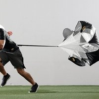 speed parachute training - Speed Training Resistance Parachute equipment football training umbrella sports equipment running umbrella Outdoor Supplies