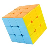 Colorful Speed ​​Cube Giochi Set Magic Square Cubo Magico Fidget Cube Decorazioni natalizie Block Giocattoli educativi Puzzle 50B0194