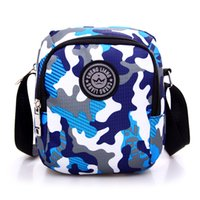 Wholesale Multi Colored Handbags - Fashion Korean Crossbody Bags Women Multi-colored Handbags Casual Small Messenger Bags Oxford Women Shoulder Bags Travel Bag for Sports