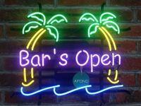 "Wholesale Cheap Light Signs - New Bar is Open Neon Sign Cheap Light For Home Bar 17""x14"""