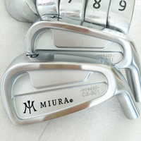 Wholesale Cb Golf - New mens Golf Clubs MIURA CB-501 Golf Irons Set 3-9P (7pcs) Steel Golf shaft and Golf Grips Irons clubs Free shipping