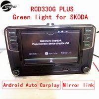 "Wholesale Dvd For Skoda Octavia - Car dvd 6.5"" MIB RCD330 RCD330G Plus Green back light For Skoda Rapid Octavia Fabia support Android auto Carplay Mirror link"