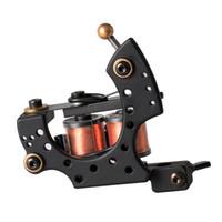 Wholesale Handmade Tattoo Machine Gun - New Tattoo Machine Handmade Taty Coil Gun 10 Wraps Supplies MZZ270