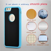 Wholesale anti gravity case car resale online - Anti gravity Phone Case For iPhone s Plus Magical Anti gravity Nano Suction Cover Adsorbed Car Antigravity Cases
