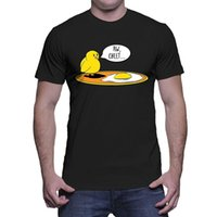 Wholesale Aw Fashion - Adult Size funny tshirts Mens Aw Sheet Chicken Egg T-shirt Premium Fitted design your own t shirts