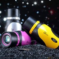 okular-teleskop hd großhandel-Großhandels-Großokular Monokular Fernglas Nachtsicht High-HD-Konzerte mobile Teleskope