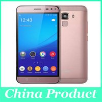 Wholesale Cam Mms - Original Bluboo Xfire 2 Android 5.1 MTK6580 Quad Core Mobile Phone 5 Inch HD IPS 8MP CAM 1GB 8GB Fingerprint ID Smartphone
