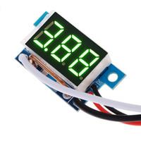 Wholesale Best Digital Panels - Best Selling Green LED DC 4-30V Dual Digital Voltmeter Ammeter Current Meter Panel Amp Volt Gauge 25