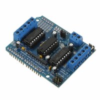 Wholesale Motor Control Boards - Wholesale-86073 Freeshipping L293D motor control shield motor drive expansion board FOR Arduino motor shield