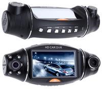 grabador de vedio al por mayor-Grabadora de vídeo portátil de la cámara DVR del coche lleno de HD 1080P con el coche DVR G-Sensor para la lente dual de Vedio FHD del vehículo 2.7