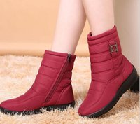 Wholesale Flexible Cloth - Snow Boots 2017 Brand Women Winter Boots Mother Shoes Antiskid Waterproof Flexible Women Fashion Casual Boots Plus Size G832
