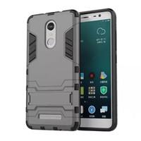бронированный чехол для мобильного телефона оптовых-Wholesale-For XIAOMI Hongmi Redmi Note 3 Pro Prime 5.5'' Case High Quality PC and TPU Hybrid Armor Cover Stand Durable Mobile Phone