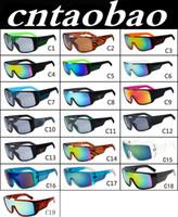 Wholesale Wholesale Wayfarer Sunglasses Mirror - MOQ=10pcs Men's Sunglasses Brand Designer Oculos de Sol Big Frame Face Domo Men Sports Coating Eyewear Gafas De Sol Masculino B2030