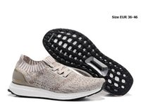 Wholesale Hot Ultra Boost Uncaged running shoes solebox Primeknit Ultra boost Runner Primeknit low cut men women sports shoes size