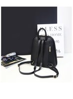 Girls organic dark chocolate - New fashion girls casual shoulder bag woman bag Korean female college wind bag dual female backpack